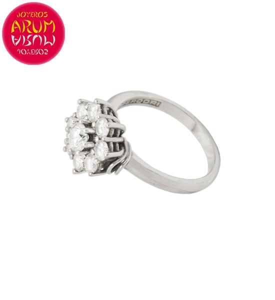 Perodri Ring White Gold with Diamonds RAJ1544