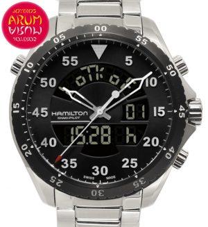 Hamilton Khaki Pilot Shop Ref. 5538/2163