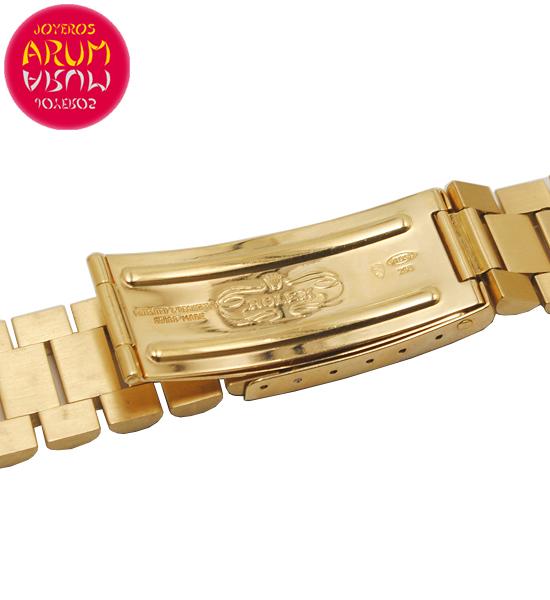 Z Rolex Gold Strap 18K 20mm RAC1581