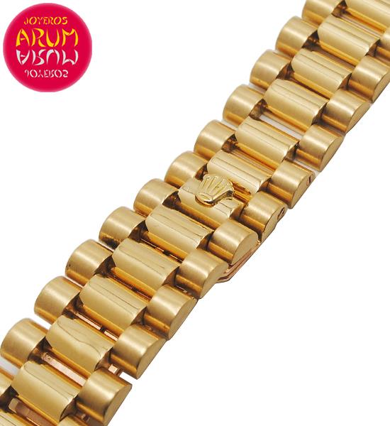 Z Rolex Gold Strap 18K 20mm RAC1580