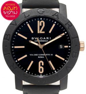 Bulgari Carbongold Shop Ref. 5573/2198