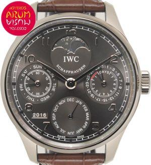 IWC Portuguese Perpetual Calendar Shop Ref. 4988/1613