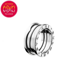 Bulgari B.Zero1 3 Band Ring White Gold RAJ610
