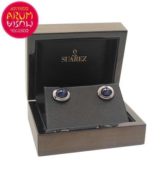 Suarez Cufflinks White Gold RAJ1585