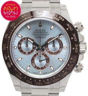 Rolex Daytona Platinum Shop Ref. 5568/2193