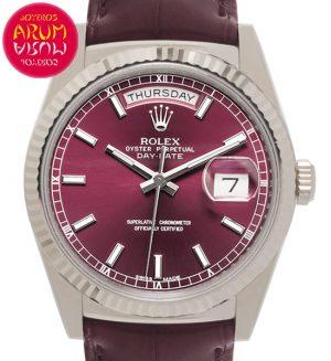 Rolex Day-Date Cherry Shop Ref. 5569/2194