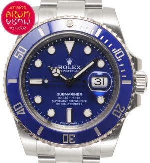 Rolex Submariner White Gold Shop Ref. 5476/2101