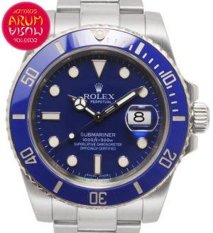 Rolex Submariner White Gold Shop Ref. 5666/2291