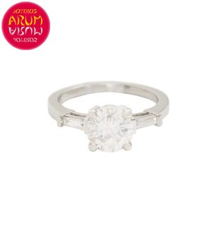 White Gold Ring with Diamond 1.90 ct RAJ1616