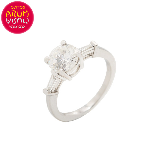 White Gold Ring with Diamond 3.15 ct. RAJ1614