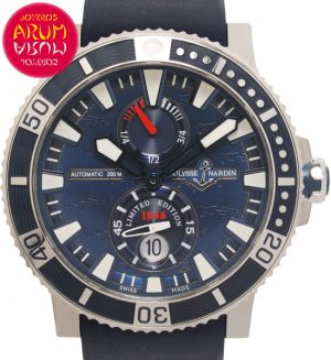 "Ulysse Nardin Hammerhead Shark Shop Ref. 5720/2345 ""SOLD"""