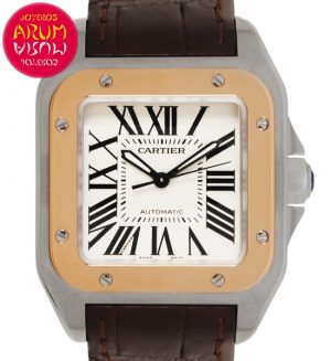 "Cartier Santos 100 Shop Ref. 5713/2338 ""SOLD"""