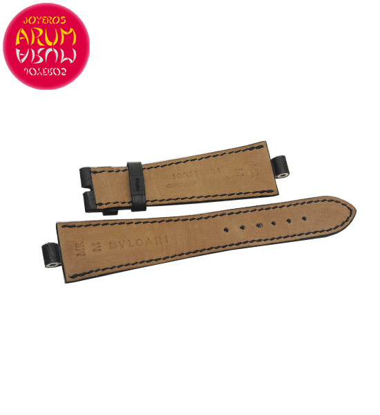 Z Bulgari Strap Crocodile Leather 22-16 RAC1605