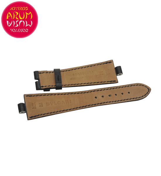 Z Bulgari Strap Crocodile Leather 22-16 RAC1605