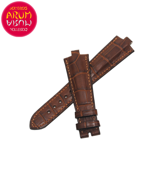 Z Bulgari Strap Crocodile Leather 22-16 RAC1594