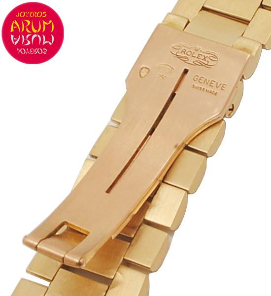 Z Rolex Gold Strap 18K 20mm RAC5431