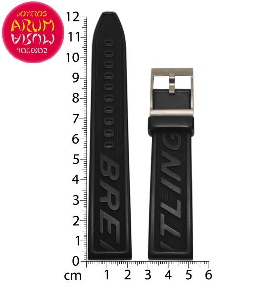 Z Breitling Rubber Strap 22-20 RAC1595
