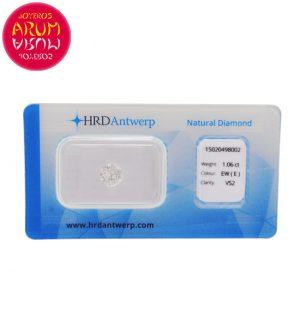 Diamond for Investment 1.06 ct. RAJ1644