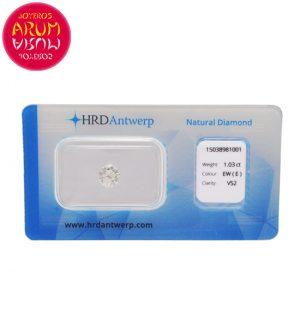 Diamond for Investment 1.03 ct. RAJ1643