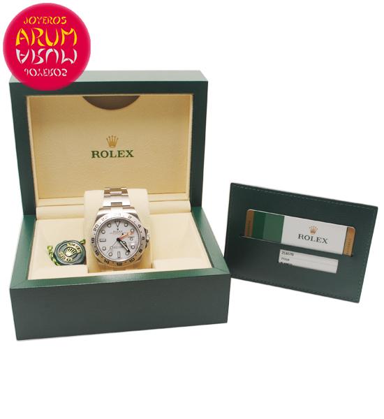 """Rolex Explorer II Shop Ref. 5756/2381 """"SOLD"""""""